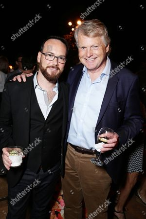 Dana Brunetti and Michael Dobbs seen at Ted Sarandos' Annual Netflix Emmy Nominee Toast, in Beverly Hills, CA