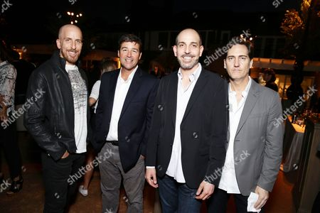 Creator/Writer/Exec. Producer Todd A. Kessler, Kyle Chandler, Creator/Writer/Exec. Producer Glenn Kessler and Creator/Writer/Exec. Producer Daniel Zelman seen at Ted Sarandos' Annual Netflix Emmy Nominee Toast, in Beverly Hills, CA