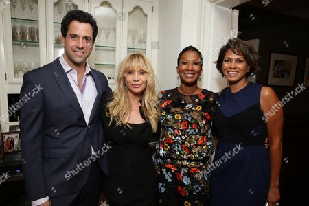 Stock Picture of Troy Garity, Rosanna Arquette, Nicole Avant and Simone Bent seen at Ted Sarandos' Annual Netflix Emmy Nominee Toast, in Beverly Hills, CA