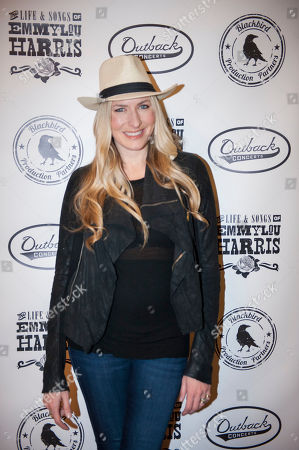 Holly Williams is seen on the red carpet at The Life & Songs of Emmy Lou Harris at the DAR Constitution Hall on in Washington