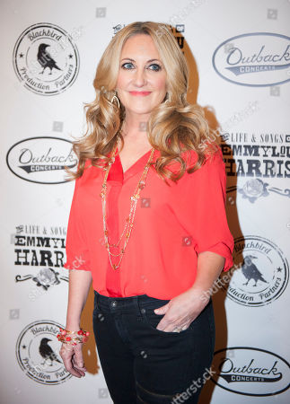 Lee Ann Womack is seen on the red carpet at The Life & Songs of Emmy Lou Harris at the DAR Constitution Hall, in Washington