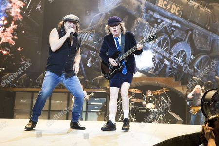 ACDC - Brian Johnson (vocals), Angus Young (guitar), Malcolm Young (guitar), Cliff Williams (bass), Phil Rudd (drums)