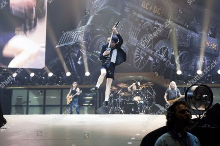 ACDC - Angus Young (guitar), Malcolm Young (guitar), Cliff Williams (bass), Phil Rudd (drums)