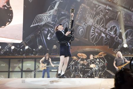 ACDC - Angus Young (guitar), Malcolm Young (guitar), Phil Rudd (drums), Cliff Williams (bass)
