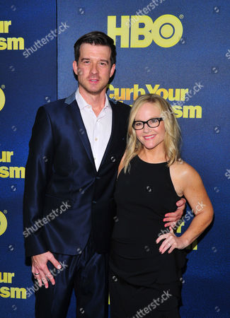 Stock Photo of Christian Hebel and Rachael Harris