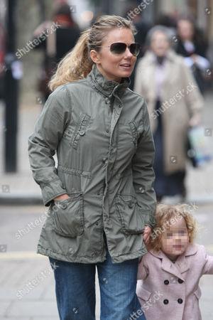 Geri Halliwell and Bluebell Madonna