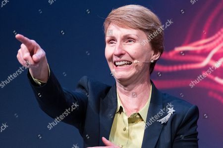 The first British astronaut in space, Helen Sharman