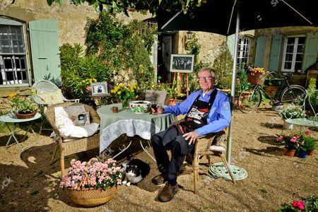 Editorial photo of Robin Ellis photoshoot, France - 30 Mar 2016