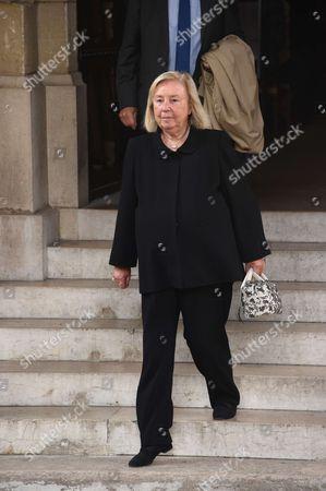 Editorial photo of Liliane Bettencourt funeral, Neuilly-sur-Seine, France - 26 Sep 2017