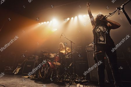 Editorial photo of Raven Eye in concert at The Ritz, Manchester, UK - 27 Sep 2017
