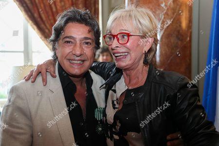 Frederic Francois and Monique Vercouteren