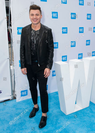 Stock Photo of Shawn Hook arrives at WE Day, in Toronto