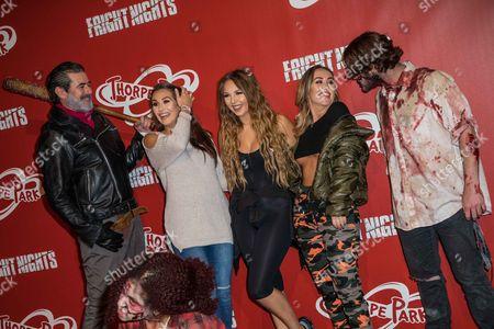 Amelia Goodman, Samantha Harvey and Lauryn Goodman
