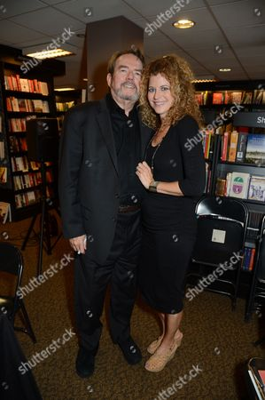 Stock Picture of Jimmy Webb and wife Laura Savini