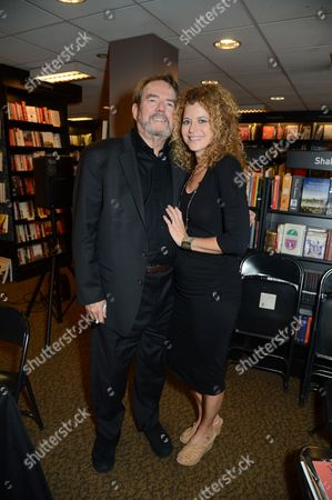 Stock Image of Jimmy Webb and wife Laura Savini