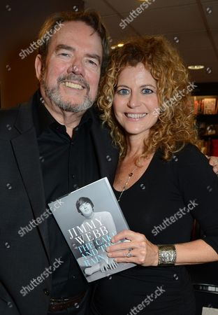 Jimmy Webb and wife Laura Savini