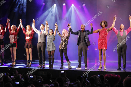 Editorial picture of Kinky Boots! photocall, Hamburg, Germany - 28 Sep 2017