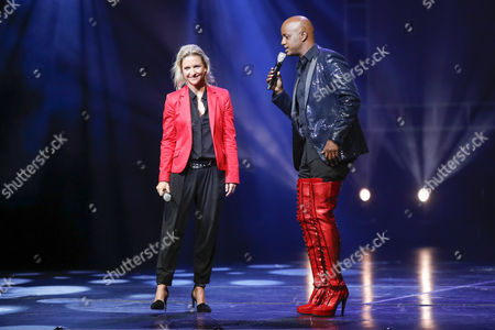 Kerstin Schnitzler (Executive Producer Germany) and Yared Dibaba