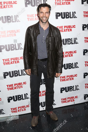 """Lorenzo Pisoni attends the opening night of """"Privacy"""" at The Public Theater, in New York"""