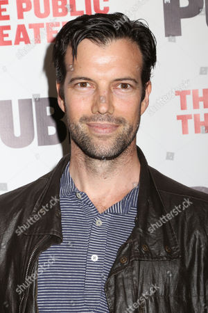 """Stock Picture of Lorenzo Pisoni attends the opening night of """"Privacy"""" at The Public Theater, in New York"""