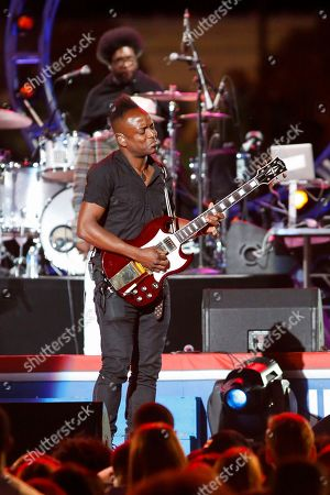 Captain Kirk Douglas of The Roots performs at the Philly 4th of July Jam in Philadelphia on