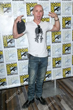 """Colin Cunningham attend the """"Falling Skies"""" press line on day 2 of Comic-Con International, in San Diego"""