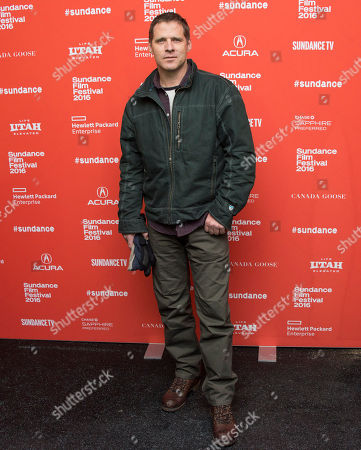 "Actor Ben Browder poses at the premiere of ""Outlaws and Angels"" during the 2016 Sundance Film Festival, in Park City, Utah"