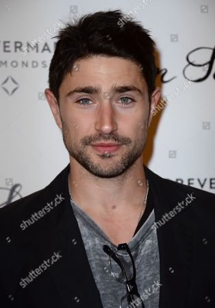 """Matt Dallas arrives at the Los Angeles premiere of """"In Secret"""" at ArcLight Cinemas Hollywood on"""