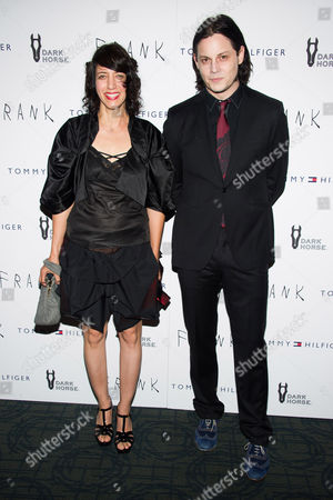 """Carla Azar and Jack White attend the """"Frank"""" premiere on in New York"""