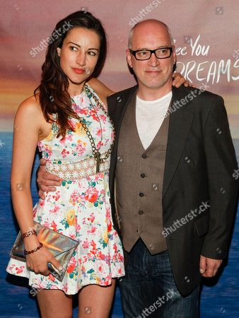 "America Olivo, left, and Donnie Kehr, right, attend a special screening of ""I'll See You In My Dreams"" at The Tribeca Grand, in New York"