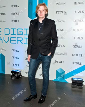 Stock Picture of Valentine Uhovski of Tumblr attends the Digital Mavericks event hosted by Details magazine, at the New Museum in New York