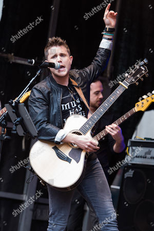 Trent Harmon performs on Fox News Channel's 'Fox & Friends' show, in New York
