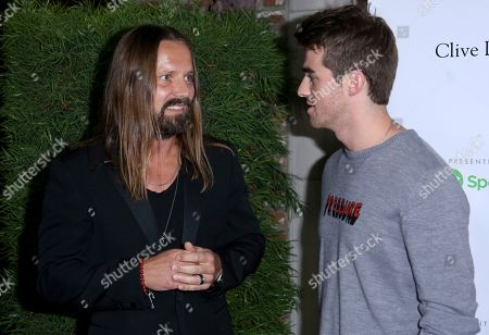 Max Martin, Andrew Taggart, The Chainsmokers. Max Martin, left, and Andrew Taggart of The Chainsmokers talk at the 13th Annual Songs of Hope, in Los Angeles