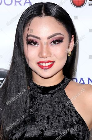 Tina Guo arrives at the 13th Annual Songs of Hope, in Los Angeles