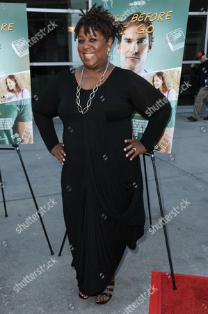 """Cleo King arrives at the LA Screening of """"Just Before I Go"""" held at Arclight Cinemas - Hollywood, in Los Angeles"""