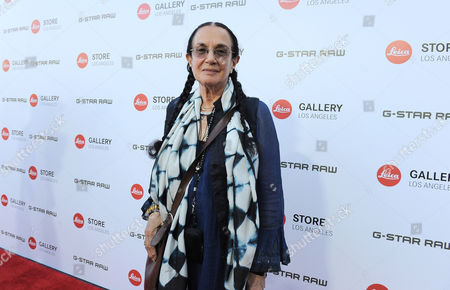 Stock Image of Mary Ellen Mark arrives at the Leica Store Los Angeles Grand Opening on in Los Angeles