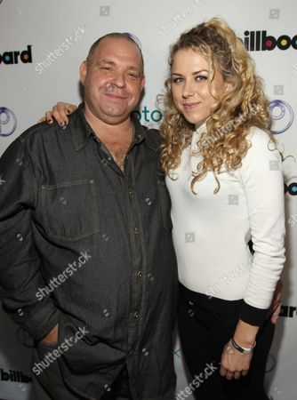 Actor Louis Lombardi and friend are seen at Park City Live Daytime Lounge- Day One, on inPark City, Utah