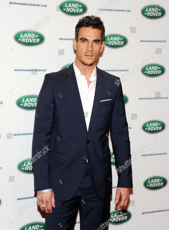 Model Josh Kloss attends the Range Rover Sport unveiling celebration at Skylight at Moynihan Station on in New York