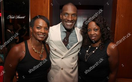 Vanessa Bell Calloway, Noah Stewart and Star Jones attend a special performance of Noah Stewart at Minton's presented bye Hennessy Privilege on in New York