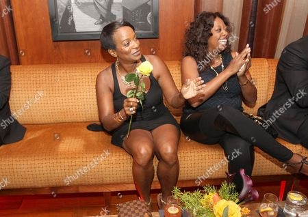 Vanessa Bell Calloway and Star Jones attend a special performance of Noah Stewart at Minton's presented bye Hennessy Privilege on in New York