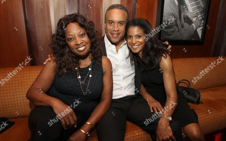 Star Jones, Maurice DuBios and Andrea attend a special performance of Noah Stewart at Minton's presented bye Hennessy Privilege on in New York