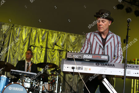 Thomas Dolby performs at the Voodoo Experience, in New Orleans