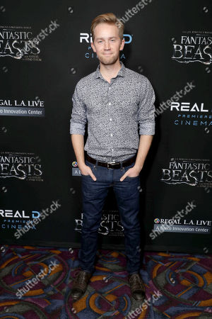"""Editorial picture of Warner Bros' """"Fantastic Beasts and Where to Find Them"""" Screening, Los Angeles, USA"""