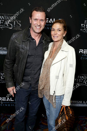 """Jason O'Mara and Paige Turco seen at Warner Bros' """"Fantastic Beasts and Where to Find Them"""" Los Angeles Screening at Regal LA, in Los Angeles"""