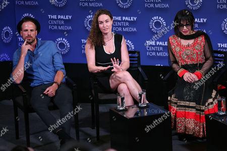 Joshua Coombes, Megan Phelps-Roper and Victoria Kahn