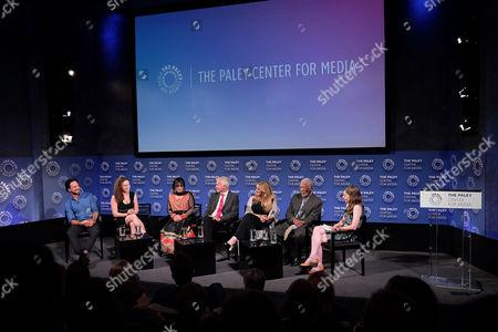 Joshua Coombes, Megan Phelps-Roper, Victoria Kahn, James Younger, Lori Mccreary, Morgan Freeman and Cynthia Littleton