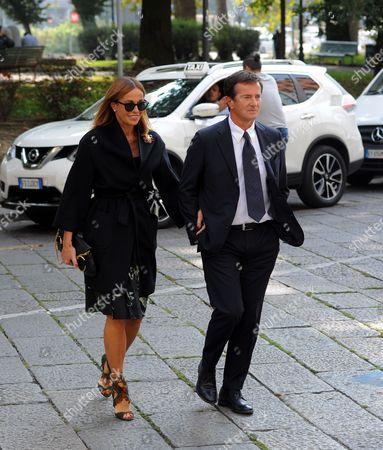 Cristina Parodi and her husband Giorgio Gori