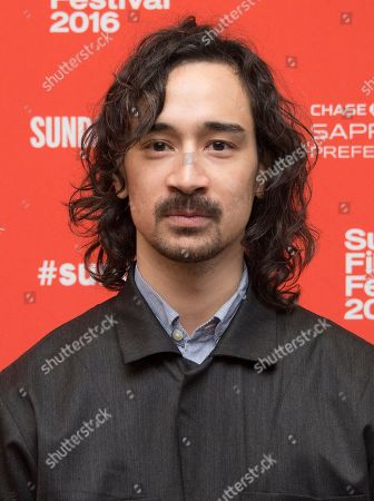 """Writer/director Jason Lew poses at the premiere of """"The Free World"""" during the 2016 Sundance Film Festival, in Park City, Utah"""