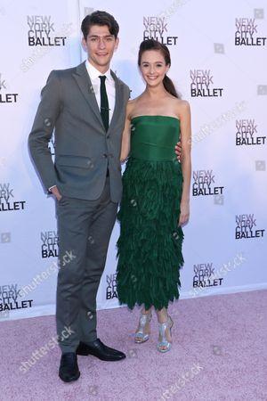 Lauren Lovette (R) and guest (L)