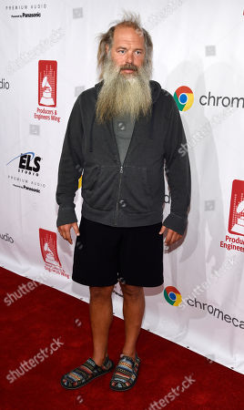 Music producer Rick Rubin poses on the red carpet at the 9th Annual Grammy Week Event honoring him at The Village Recording Studios, in Los Angeles